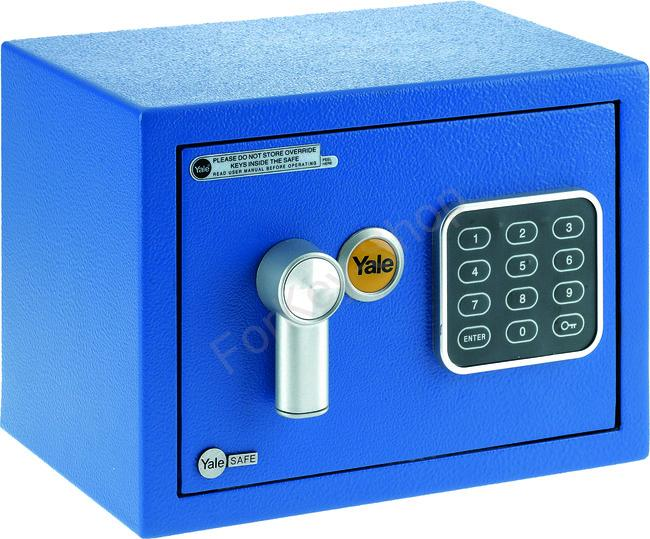 Yale Safe Mini Blue YSV/170/DB1