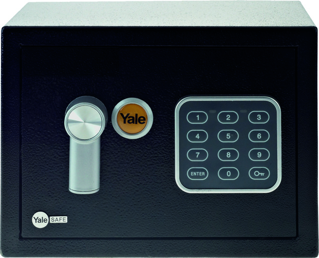 Yale Safe Mini Black YSV/170/DB1